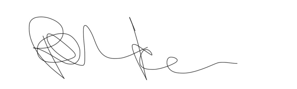 curator signature