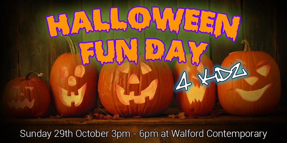 halloween fun day poster
